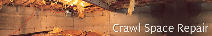 Crawl Space Repair in GA, including Peachtree City, Carrollton & Atlanta.